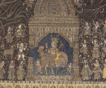 Mata-ni-Pachedi: Bahuchara Mata - Bahuchara Mata, Gods & Goddesses, Gujarat, Mata ni Pachedi, Sanjay Chitara