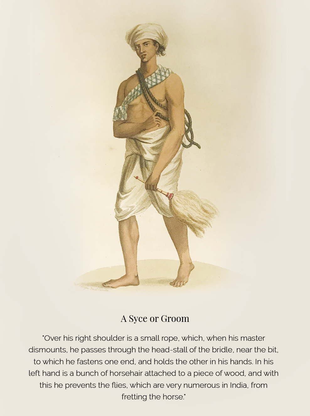 'Costume of Hindostan' – A Rare Glimpse of the Common Indian from 18th-Century Bengal - Costumes, Dancers & Costumes, Edward Orme, Engravings, rare books