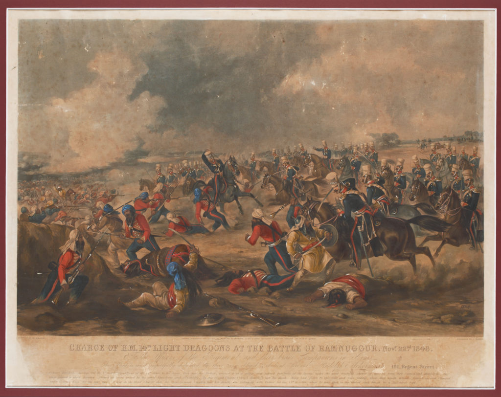 Martial Art: The True Story Behind This Engraving From the Anglo-Sikh War - Anglo-Sikh War, aquatint engraving, Battles & Battlefields, Punjab, War