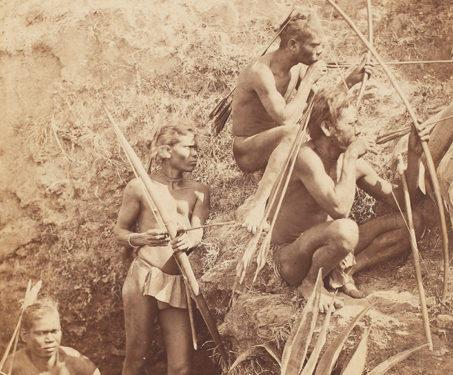 Group of Korewahs, Chota Nagpur - Bengal, Bengal Presidency, Chhattisgarh, Ethnographic, Ethnographies, Tribal, Tribes