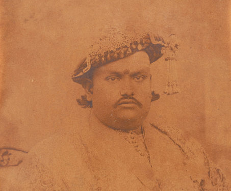 Maharaja of Hutwa - Albumen print, Bihar, Calcutta, Indian Royalty, Kings & Countrymen, Kolkata, Maharaja, Royalty