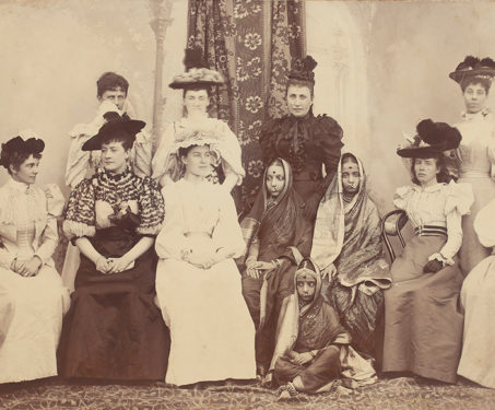 19th-Century Indian and European women - Indian Royalty, Madhya Pradesh, P Higgins, PA Herzog, PA Herzog & P Higgins