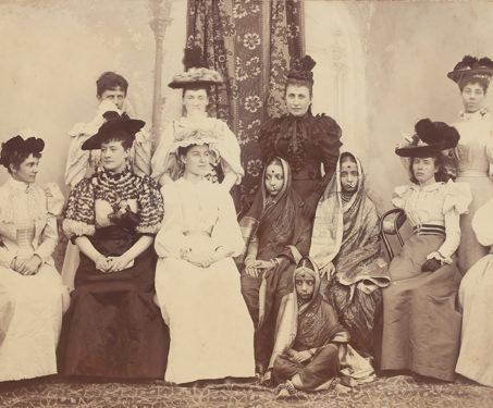19th-Century Indian and European women - Indian Royalty, Madhya Pradesh, P Higgins, PA Herzog, PA Herzog & P Higgins