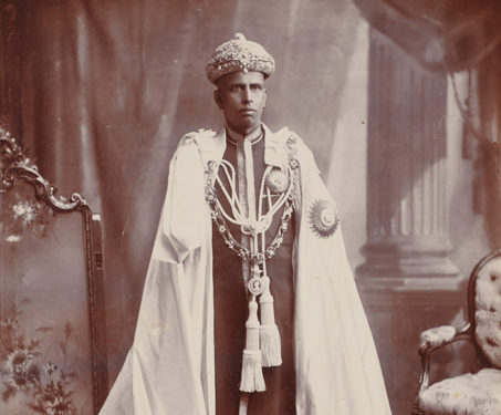 Rama Varma XV, the Rajarshi of Cochin - Bourne & Shepherd, Charles Shepherd, Indian Royalty, Kings & Countrymen, Portraits, Raja Varma, Samuel Bourne