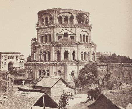 Satkhanda, Lucknow - Albumen print, Awadhi Architecture, Lucknow, Nawab, V&E Pont