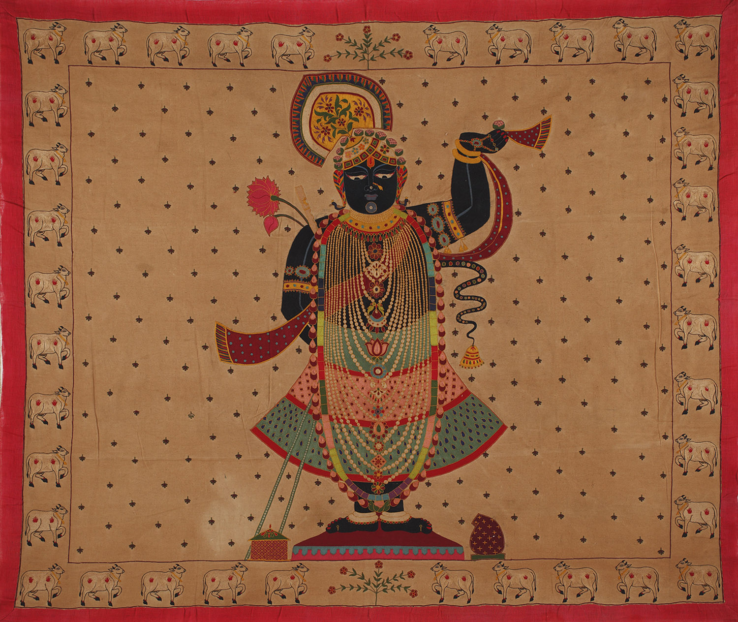 A Portrait of the God as a Young Boy: Behind the Art of Pichwai Painting -  Sarmaya