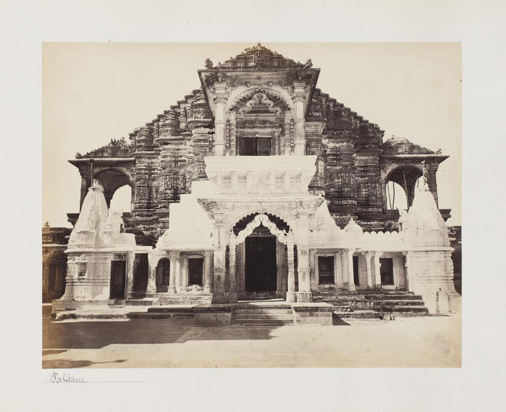Mahavir in marble - Stunning 19th-Century Photographs of the Jain Temples of Palitana - Festivals of India, Jain temple, Jainism, Mahavir Jayanti