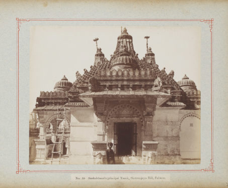 Mahavir in marble - Stunning 19th-Century Photographs of the Jain Temples of Palitana - Festivals of India, Jain temple, Jainism, Mahavir Jayanti