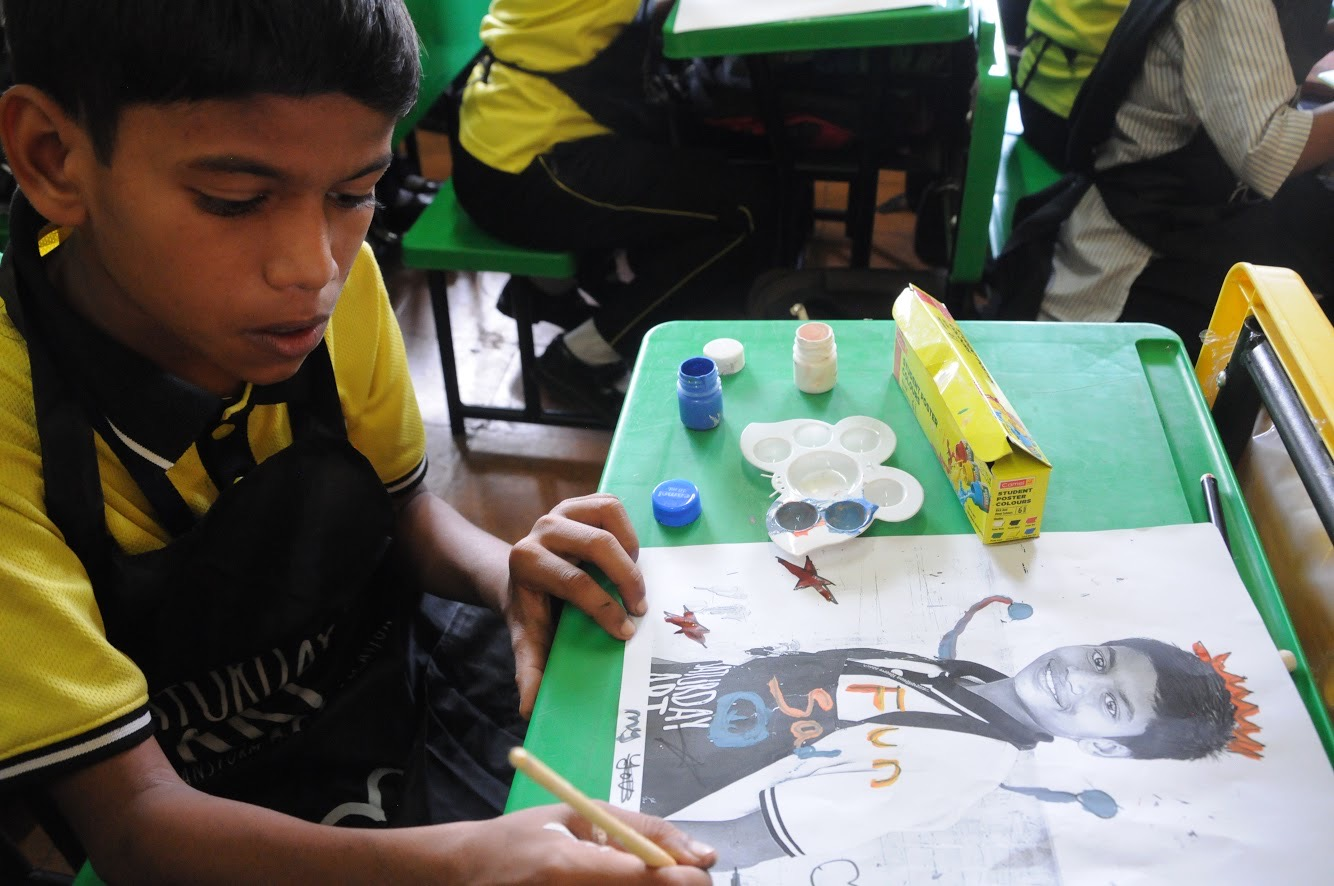Saturday Art Class - Painted photography workshop - Children, For schools, outreach, Painted photography, School