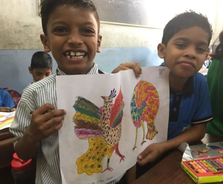 Saturday Art Class - Gond Workshop - For schools, Gond, Poetry & Nature, Workshops