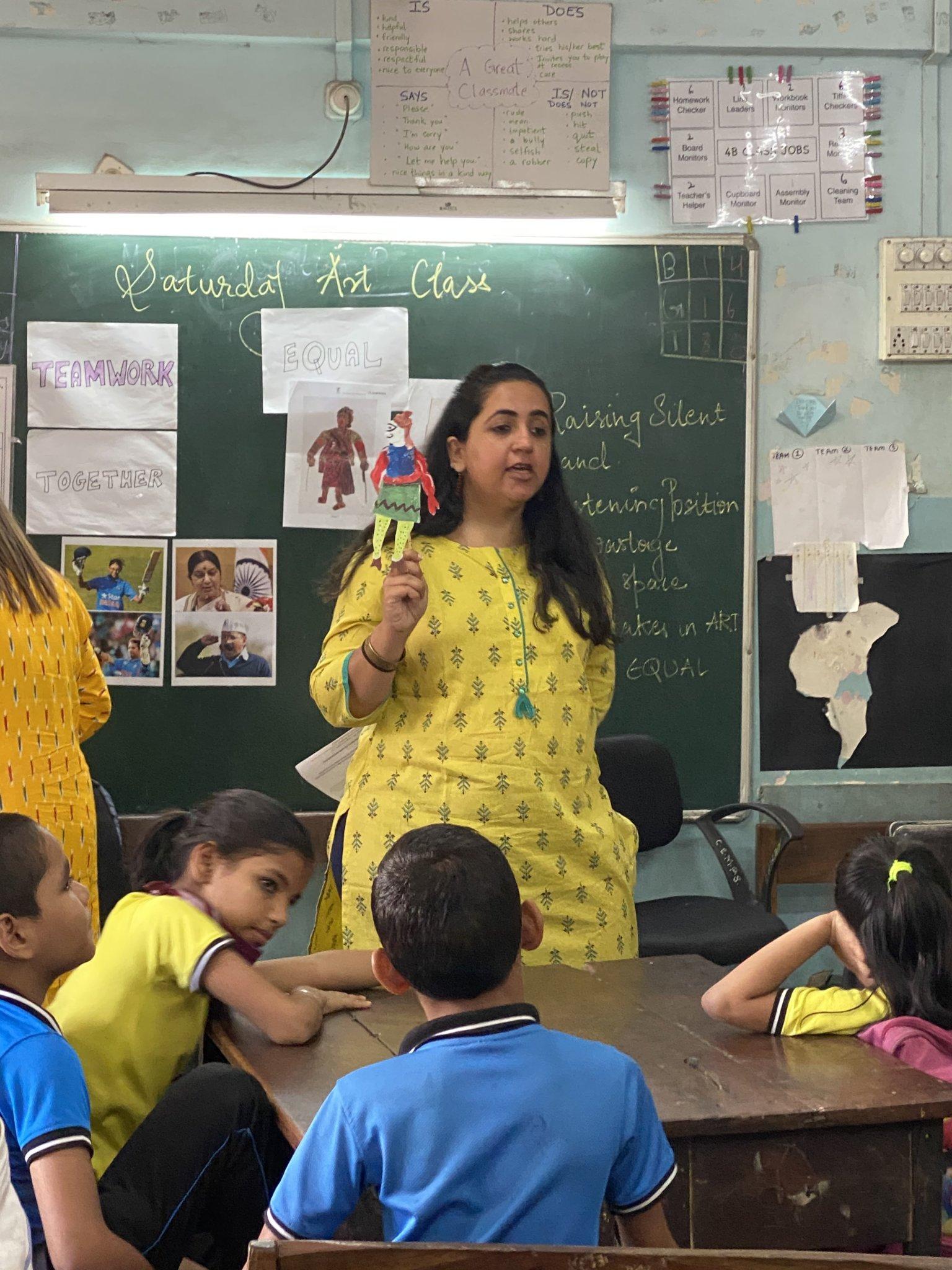Saturday Art Class - Tholu Bommalaata Workshop - For schools, partnerships, Saturday Art Class, tholu bommalaata, Tholu workshop, Workshops