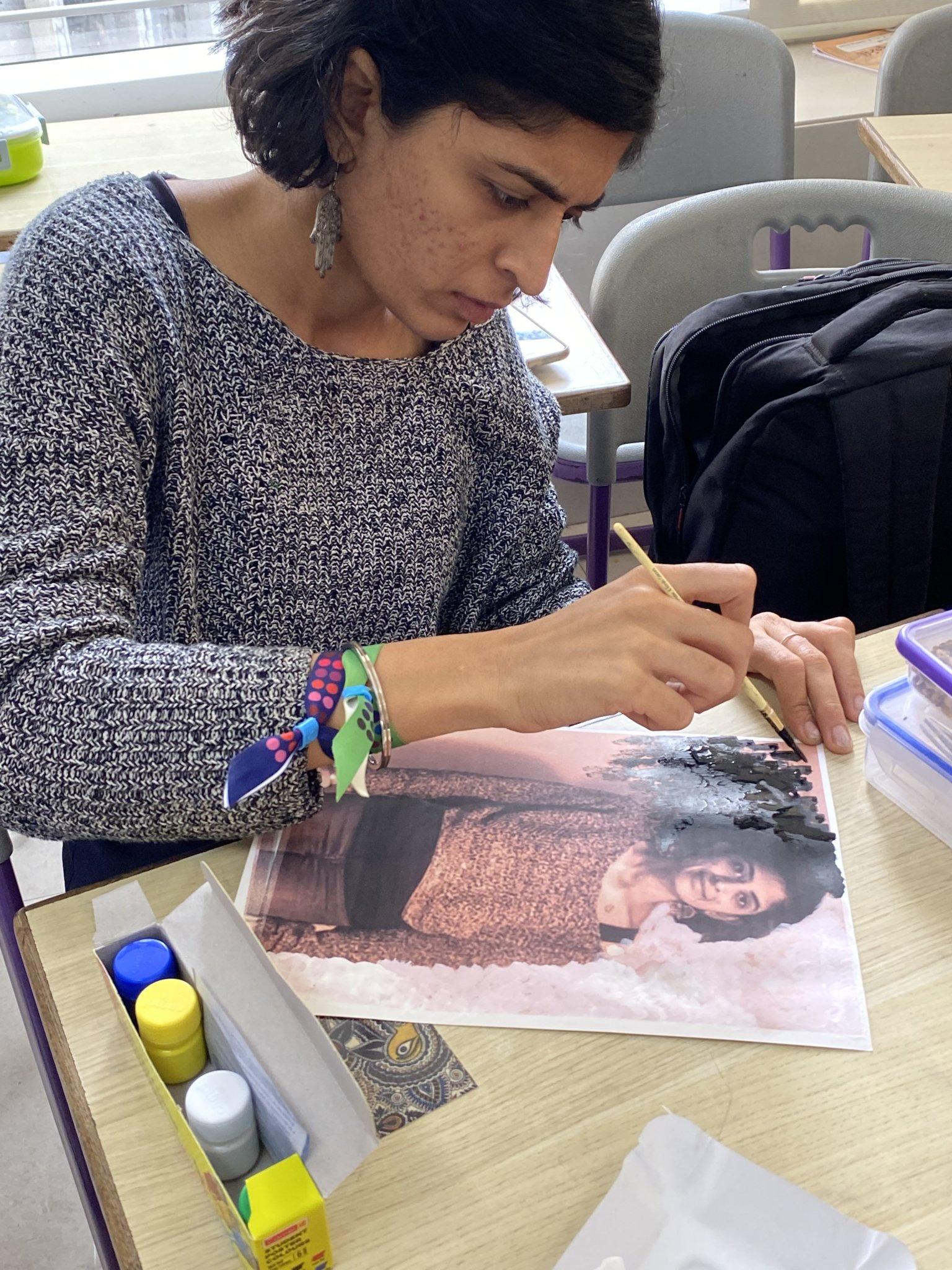 Teacher Training - Saturday Art Class - Gond and Painted Photographs - For educators, Saturday Art Class, Workshops