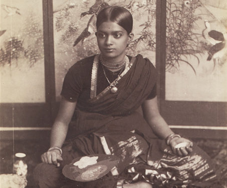 Dancing Girl, Western India - 19th Century Photography, Dance, dancing girl, photography