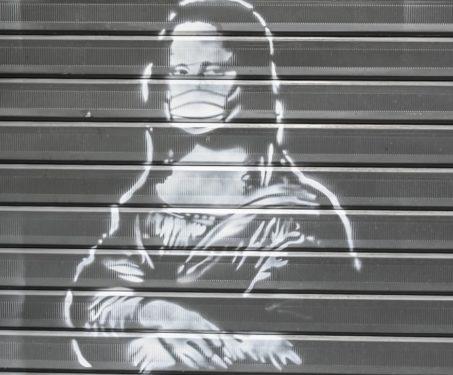 Coronavirus Street Art -