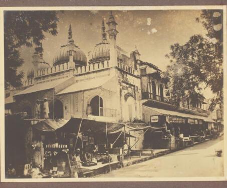 Sunehri Masjid, Delhi - 18th century, Chandani Chowk, Delhi, Mosque, Mughal architecture, Nader Shah