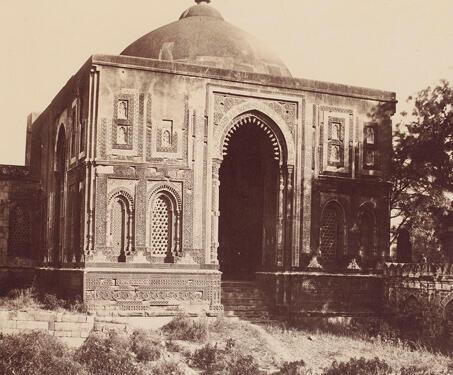 Alai Darwaza, Qutb Complex, Delhi - Islamic Architecture, 14th century, Delhi, Delhi Sultanate, Qutub Minar