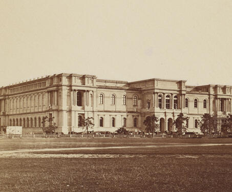 Imperial Museum (Indian Museum), Calcutta - 19th Century Photography, Asiatic Society, British India, Calcutta, museum