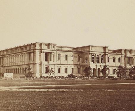 Imperial Museum (Indian Museum), Calcutta - 19th Century Photography, Asiatic Society, British India, Calcutta, museum