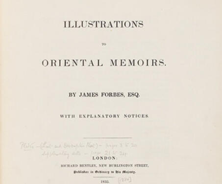 Illustrations to Oriental Memoirs - 18th century, 19th century, Bombay, Botanicals, Botany, British India, European artists, James Forbes, Naturalists