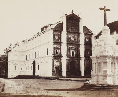 Basilica of Bom Jesus, Goa - 17th century, 19th Century Photography, Church, Francis Xavier, Goa