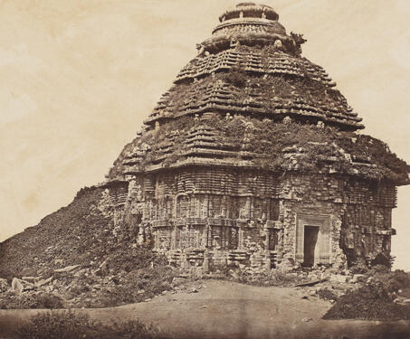 The Black Pagoda, or, Sun Temple, Konark - 19th Century Photography, Kalinga, Konark, Odisha, Surya, Temple Architecture