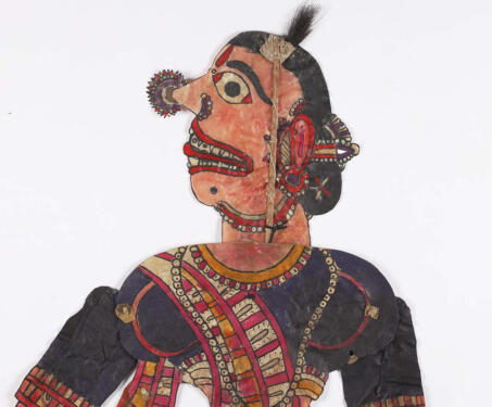 Comic Relief - Leather puppets, Shadow Puppets, tholu bommalaata