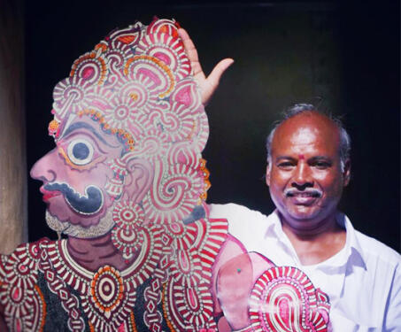Tholu Bommalaata - Leather puppets, Puppetry, Shadow Puppets, tholu bommalaata