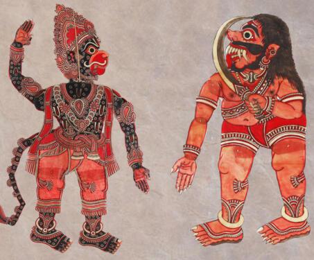 Tholu Bommalaata - Leather puppets, Shadow Puppets, tholu bommalaata