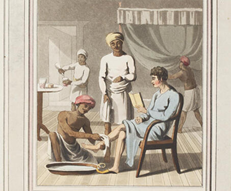 Europeans in India: From a Collection of Drawings by Charles D'Oyly - 19th century, Bengal Presidency, British India, Calcutta, Charles D'Oyly, Colonial, East India Company, European artists