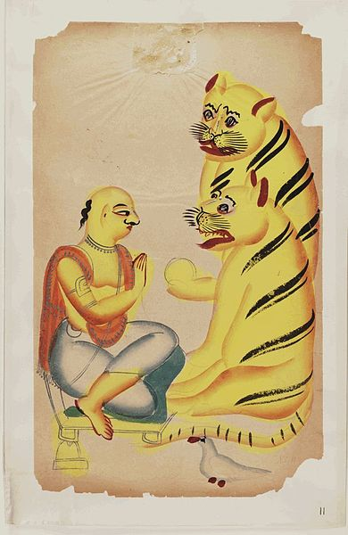 Endless Scroll - The Genesis of Bengal's Pattachitra Art - Bengal, Bengal Pattachitra, Gods & Goddesses, Mother Goddess, Patua, Patua Scroll