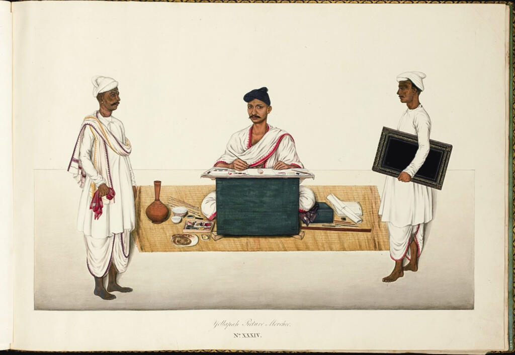 Bengal & Co. – East Meets West In Company School Paintings - Bengal, Bengal Presidency, Calcutta, Company School, Durbars & Colonials, Kolkata