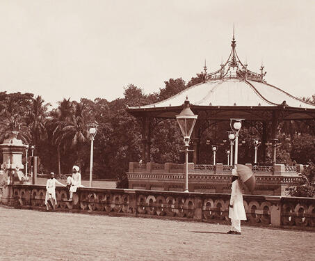 Eden Garden, Calcutta, - Bengal Presidency, British Raj, Calcutta, Colonial Architecture, East India Company, Fort William, Gardens