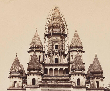 Temple of Bansberia, Hugli - Architecture, Bengal, Bengal Presidency, Calcutta, Sacred Spaces, Temples