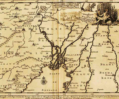Bengal - 18th century, Bengal, Bengal Presidency, British Raj, Calcutta, Colonial India, Colonialism, Dutch, Indian history, Maps