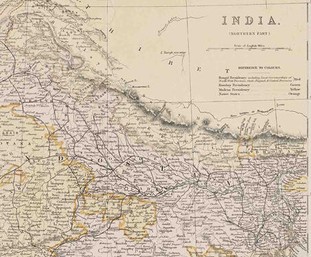 India (Northern Part) - 18th century, Bengal, Bengal Presidency, British Raj, Calcutta, Colonial India, Colonialism, Dutch, Indian history, Maps