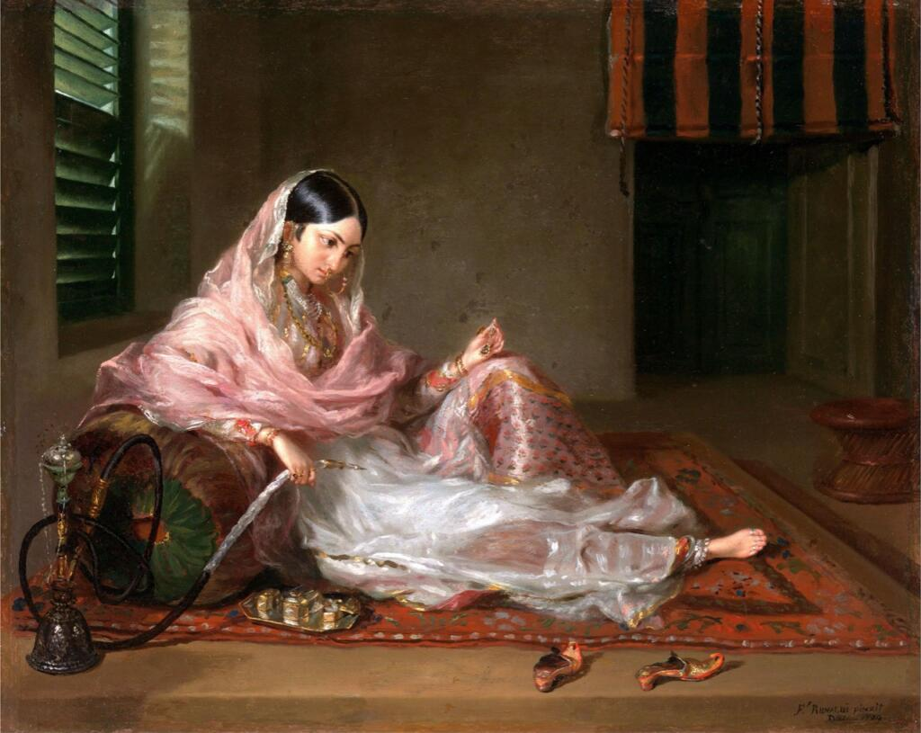 La Mode De Calcutta - Bengal, Bengal Presidency, Calcutta, Fashion, Kolkata, textile
