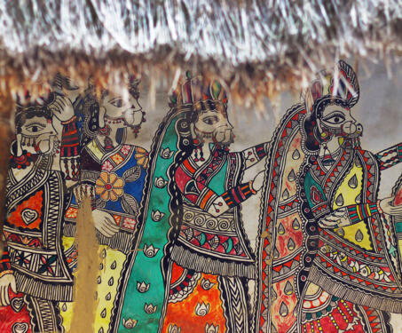 On The Road in Madhubani - Exhibitions