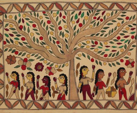 Divine, Human, Feminine, Feminist - Mithila art and its women - Moti Karn