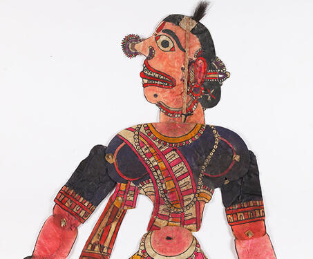 Bangarakka - Andhra Pradesh, Folk Art, Leather puppets, Puppetry