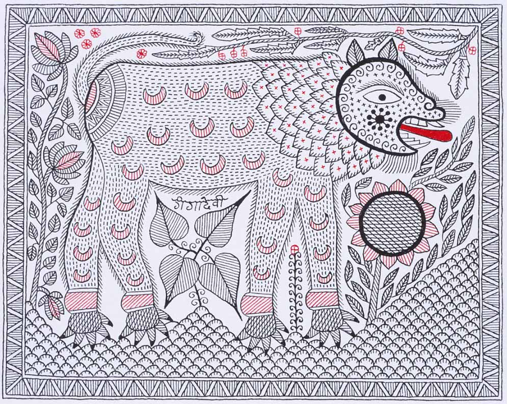 Art of the Unexpected – In conversation with Santosh Kumar Das - Bihar, featured, Madhubani, Mithila, Santosh Kumar Das, SK Das