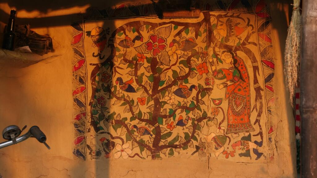 Divine, Human, Feminine, Feminist - Mithila art and its women - Baua Devi, Bharani, Bihar, featured, Feminism, Godna, Kachani, Madhubani, Mithila, Moti Karn, Natural Dyes