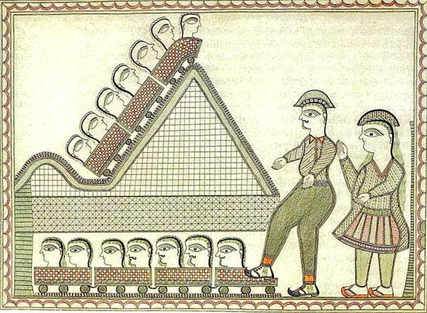 Divine, Human, Feminine, Feminist - Mithila art and its women - Baua Devi, Bharani, Bihar, featured, Feminism, Godna, Kachani, Madhubani, Mithila, Moti Karn, Natural Dyes