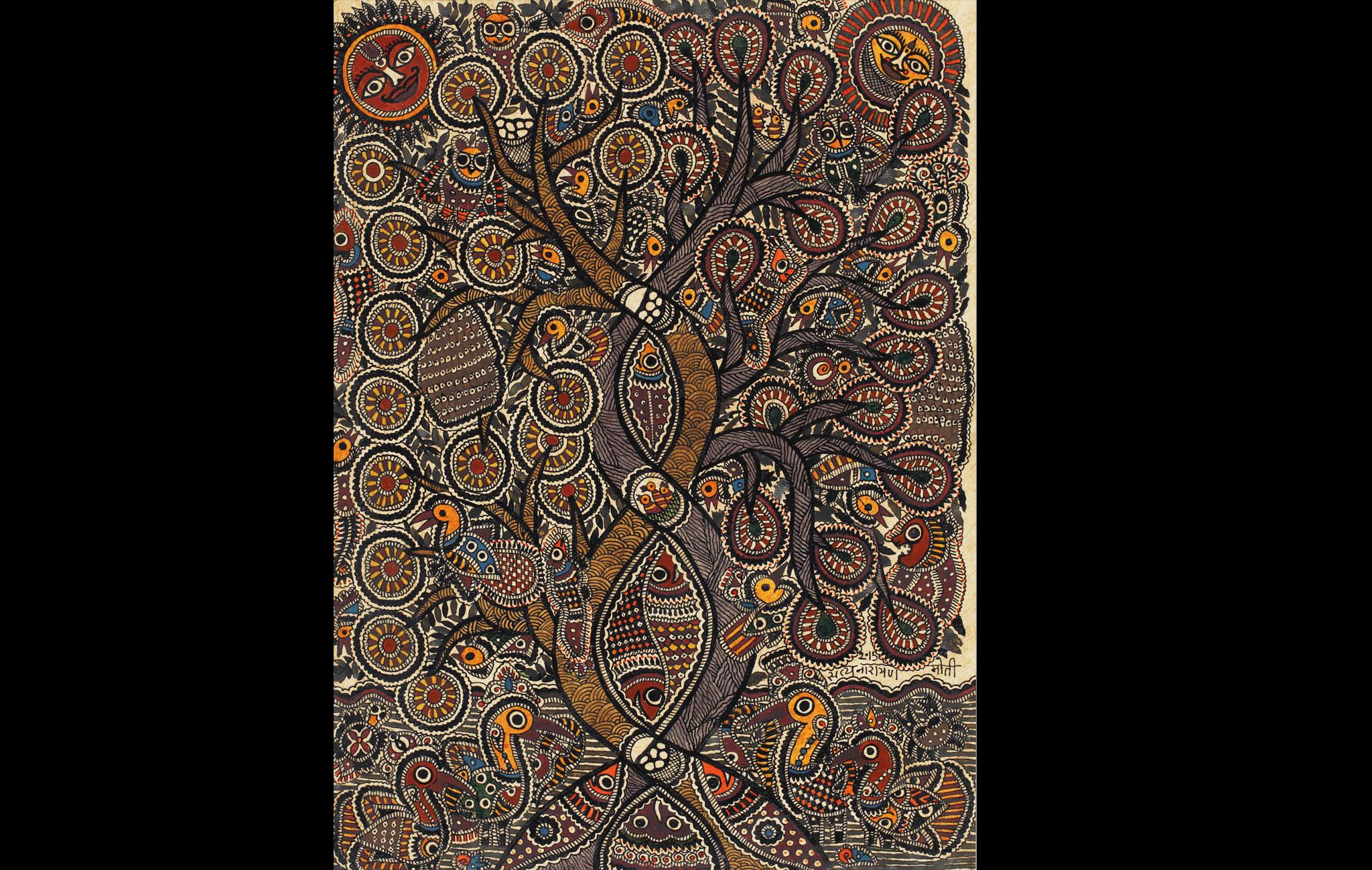 Tree of Life - Mithila painting