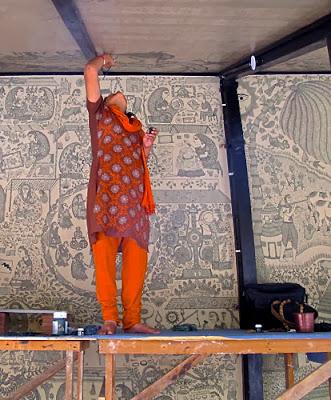 Nature & Nurture in the Art of Pushpa Kumari - Bihar, featured, Feminism, Madhubani, Mithila, Pushpa Kumari