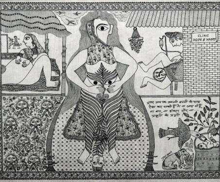 Nature & Nurture in the Art of Pushpa Kumari - Feminism