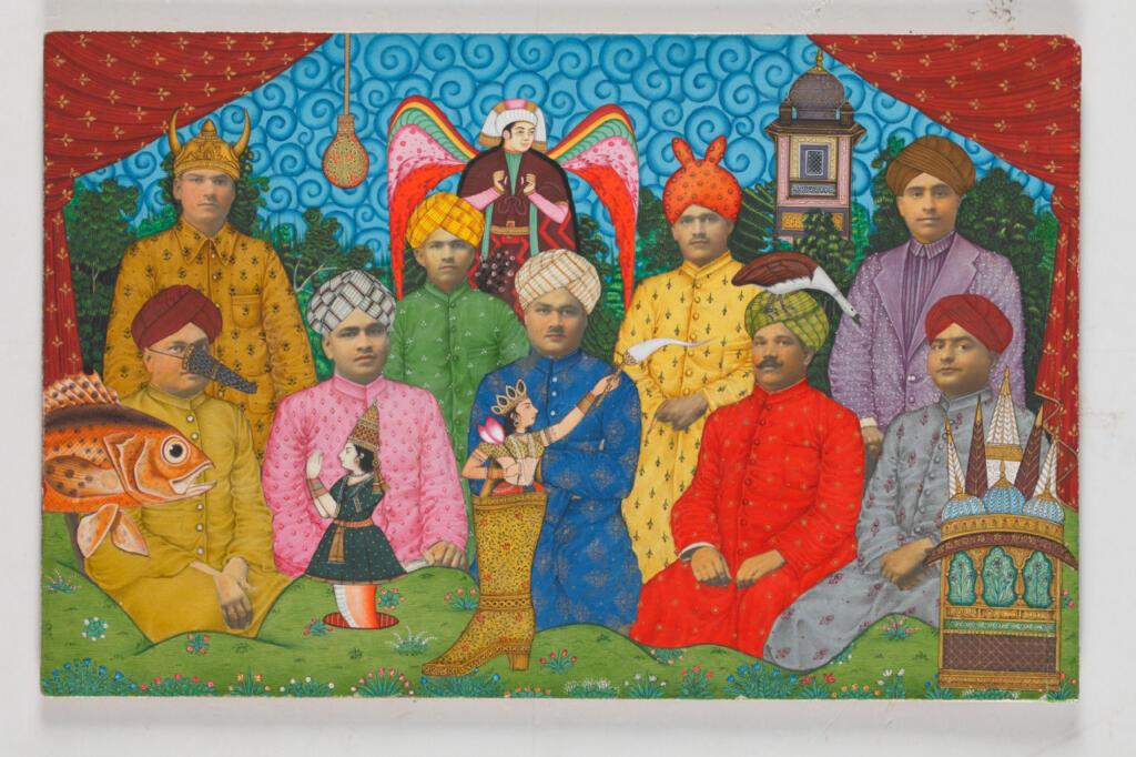 Beyond the Form: Portraits in Modern Indian Art - Alexander Gorlizki, Dhruvi Acharya, featured, FN Souza, Laxma Goud, Portraits, Riyaz Uddin