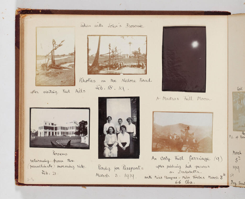 Family Portraiture: An attempt at reading a personal album - Album, Chennai, Family albums, featured, Madras, Madras Presidency, Pentland, photography, Portraits, Tamil Nadu