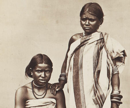 Todas, Indigenous Tribe from Nilgiri Hills - 19th Century Photography, Colonial India, Ethnographic Photography, Ethnography, Todas