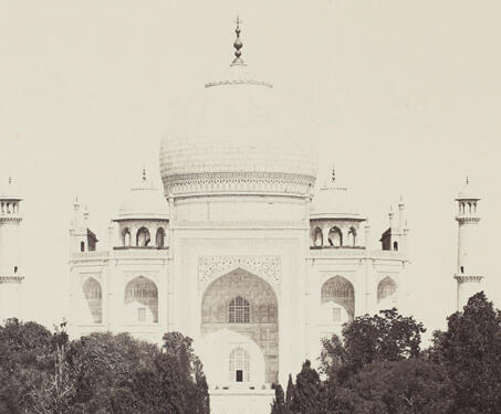 Taj Mahal, Agra - 19th Century Photography