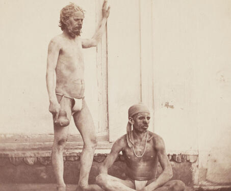Udasees from the Sutlej - 19th Century Photography, Colonial India, Ethnographic Photography, Ethnography, Punjab, Shepherd